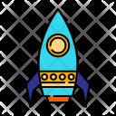 Rocket Spaceship Spaceshuttle Icon