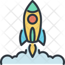 Rocket Business Startup Icon