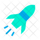Launch Space Missile Icon