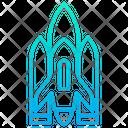 Spacecraft Spaceship Space Shuttle Icon