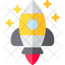 Rocket Mission Launch Icon