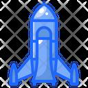 Rocket Spaceship Launch Icon