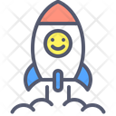 Rocket Spaceship Spacecraft Icon