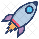 Rocket Spaceship Scapecraft Icon
