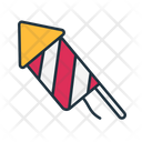Rocket Fireworks Fire Crackers Icon