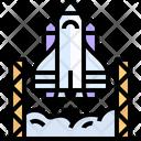 Rocket Spacecraft Spaceship Icon