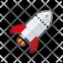 Rocket Rocket Launch Rocket Science Icon