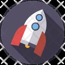 Mechanical Toy Robot Rocket Icon