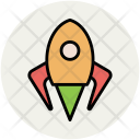 Rocket Missile Spacecraft Icon