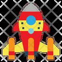 Toy Rocket Game Icon