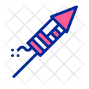 Rocket Petard Fireworks Icon