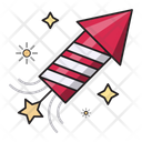 Rocket Fireworks Celebration Icon