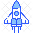 Rocket Future Launch Icon