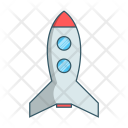 Rocket Space Astronomy Icon