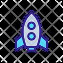 Space Shuttle Contour Icon