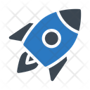 Rocket Spaceship Travel Icon