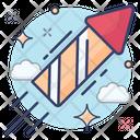 Rocket Explosive Bottle Rocket Icon