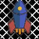 Rocket Icon Innovation Icon