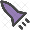 Rocket Missile Spaceship Icon