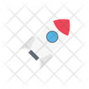 Rocket Startup Spaceship Icon