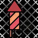 Firework Celebration Rocket Icon