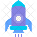 Rocket Technology Science Icon