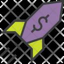 Rocket Increase Profit Icon