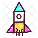 Rocket Space Primitive Icon