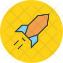 Rocket Increase Profit Icon