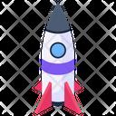Rocket Startup Missile Icon