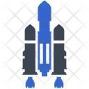 Planet Rocket Space Icon