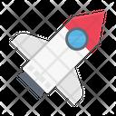 Rocket Spaceship Launcher Icon