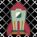 Rocket Spaceship Ship Icon