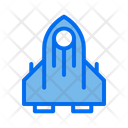 Rocket Vehicle Transportation Icon