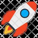 Rocket Missile Mission Icon