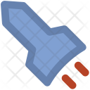 Rocket Missile Spaceship Icon