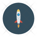 Launch Rocket Startup Icon