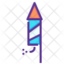 Rocket New Year Icon