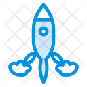 Rocket Spaceship Travel Icon
