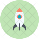Rocket Missile Launch Icon