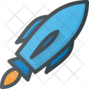 Rocket Mission Space Icon