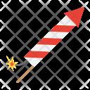 Rocket Firework Christmas Icon