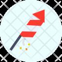 Rocket Fire Christmas Icon