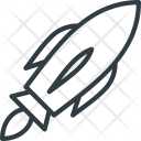 Mission Rocket Exploration Icon