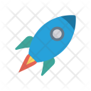 Boost Rocket Travel Icon