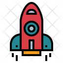 Rocket Space Spaceship Icon