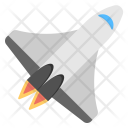 Rocket Flying Spaceship Icon