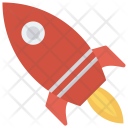Rocket Spaceship Alienship Icon