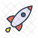 Rocket Spaceship Boost Icon