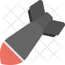 Rocket Flying Missile Icon
